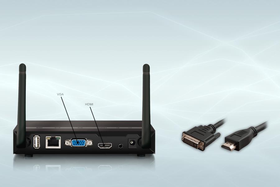 WePresent 1000 HDMI van brienen