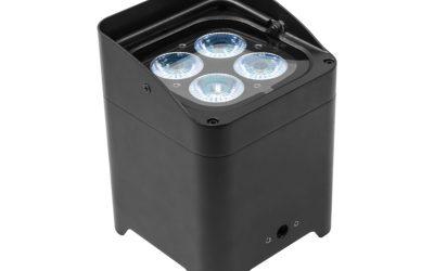 """Nieuw in de verhuur """"RGBW LED accu spots"""""""